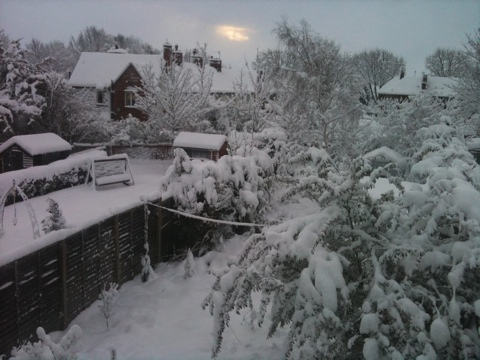 Snow in Lincoln